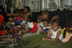 Haiti children in an orphanage