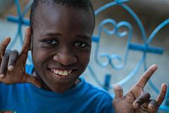 Boy from Haiti